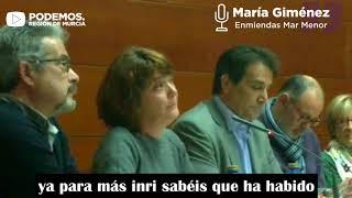 #YoConElMarMenor María Giménez