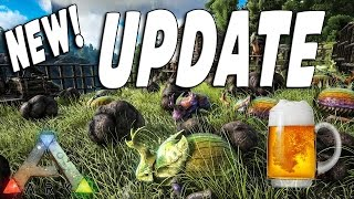 ARK Survival Evolved: New Update: Patch v232.2 Beer Brewing, Dung Beetle and Dimetrodon