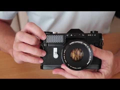 Canon Canonflex RM SLR Film Camera