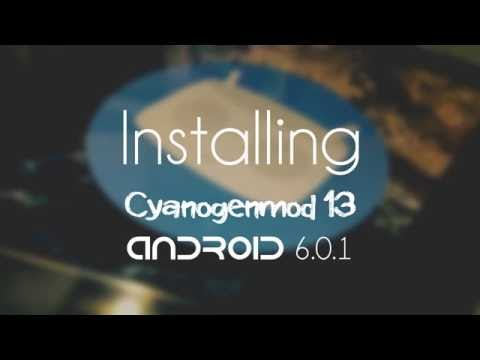 How to install Android Marshmallow on Samsung Galaxy Tab 2 (P3100) | Cyanogenmod 13 |