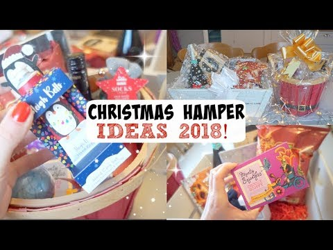 Christmas Hamper Ideas.Christmas Hamper Gift Idea 2018 Vlogmas Day 11