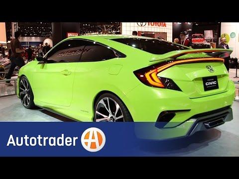 Honda Civic Concept | 2015 New York Auto Show | Autotrader