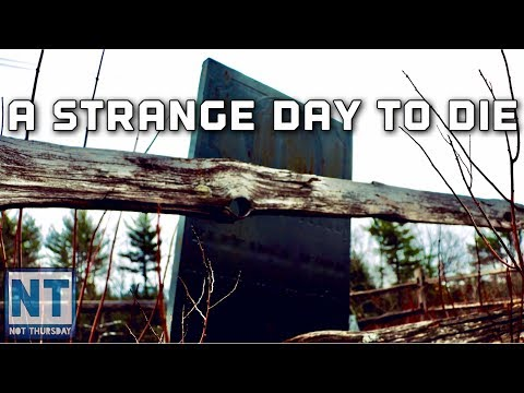 A Strange Day To Die ! Small Pox Grave With A Twist - Not Thursday #120 NH History