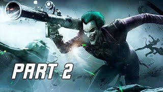 Injustice Gods Among Us Walkthrough Part 2 - Aquaman & Joker (Let's Play Commentary)
