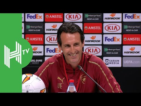 Unai Emery: Arsenal fully focused on winning Europa League