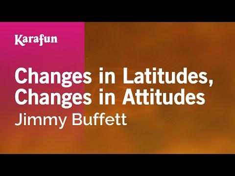 Karaoke Changes in Latitudes, Changes in Attitudes - Jimmy Buffett *