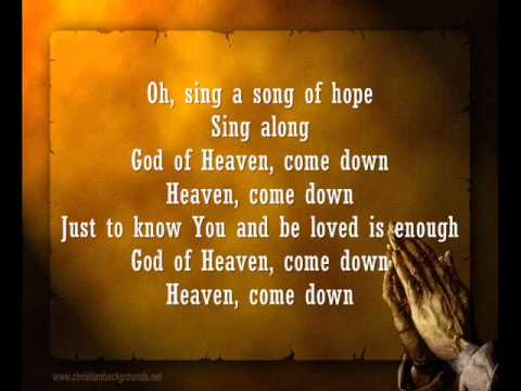 Song of Hope (Heaven Come Down) by Robbie Seay Band