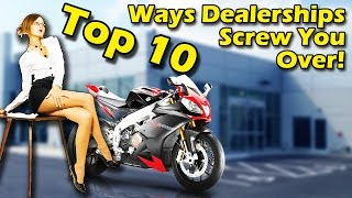 Top 10 Shocking Ways Dealerships Screw You Over