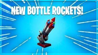 The NEW Bottle Rockets In Fortnite!