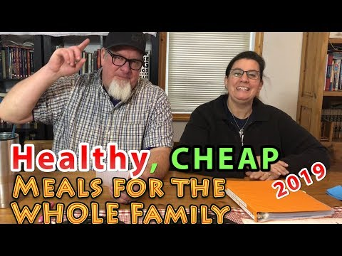 Healthy CHEAP Recipes for the Whole Family