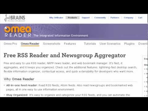 Jetbrains Omea RSS Reader | Get Full Text RSS News with FeedsAPI