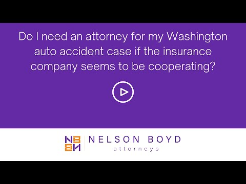 WA Car Accident | Attorney Needs | Insurance Cooperating | Personal Injury Law | Seattle, WA