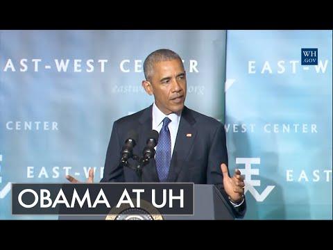 Obama at UH