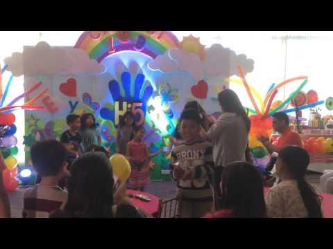 Javi & Cio's Hi-5 Double Birthday Celebration Video Coverage