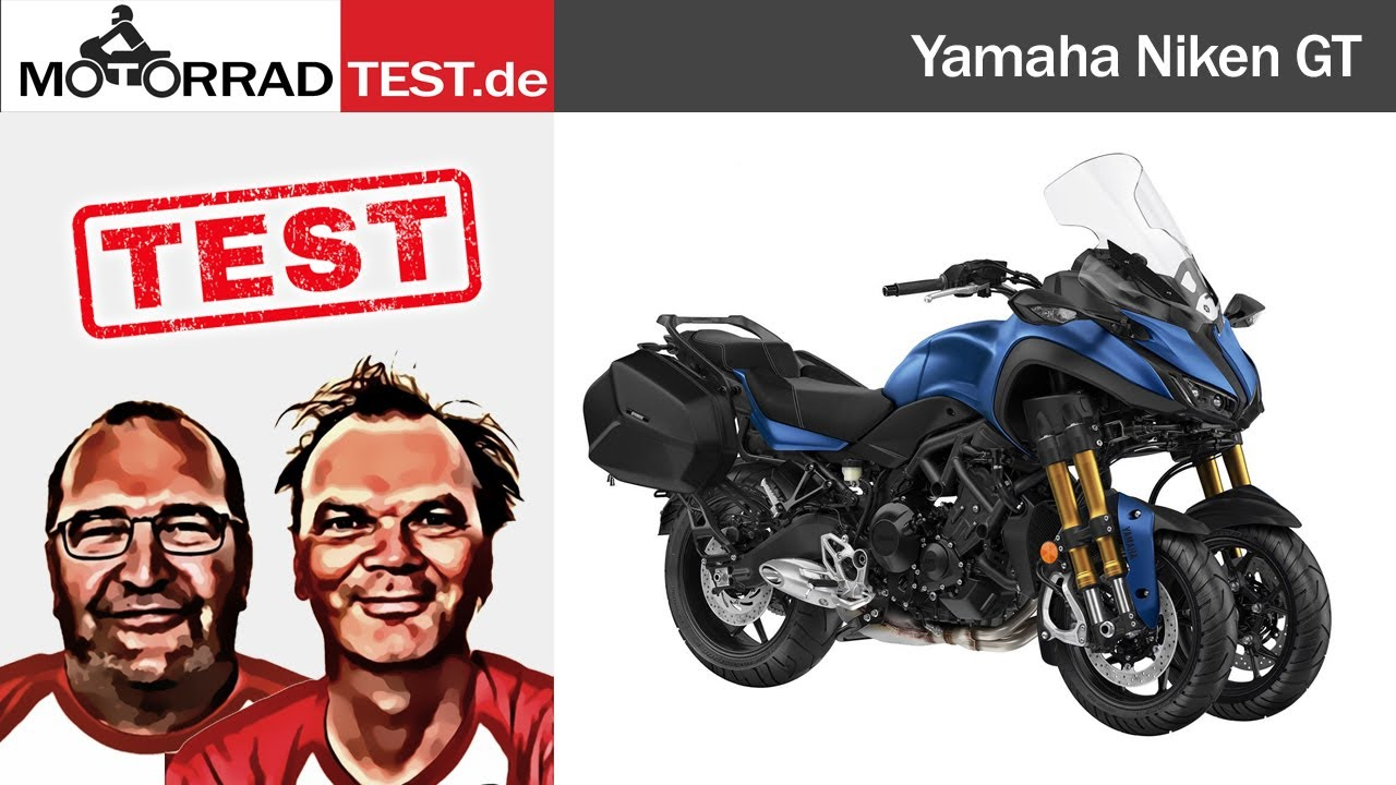 Yamaha Niken GT | TEST (deutsch)