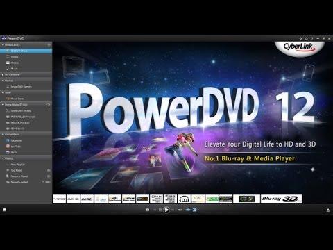 วิธีติดตั้ง cyberlink Powerdvd 2012 พร้อมแครก