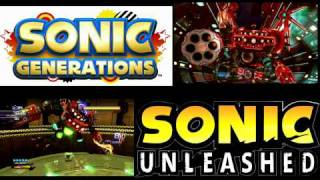 Sonic Mash Up - Unleashed + Generations (Egg Dragoon)