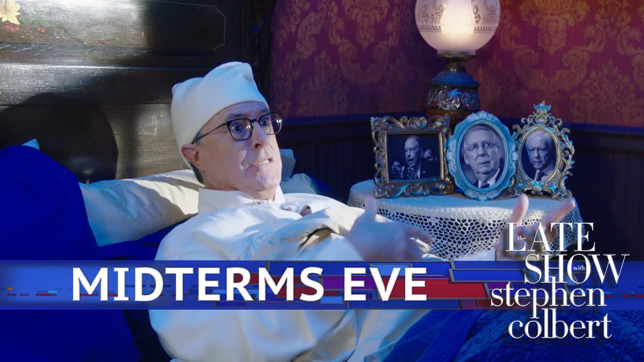 Midterms Eve - The Late Show with Stephen Colbert