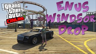 Voiture de Luxe: ENUS WINDSOR DROP | GTA V ONLINE