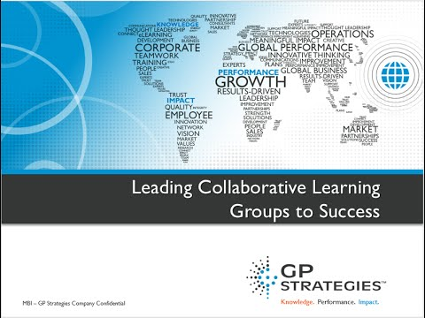 Webinar | Leading Collaborative Learning Groups to Success