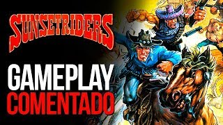 Gameplay Comentado - Sunset Riders | RETRO