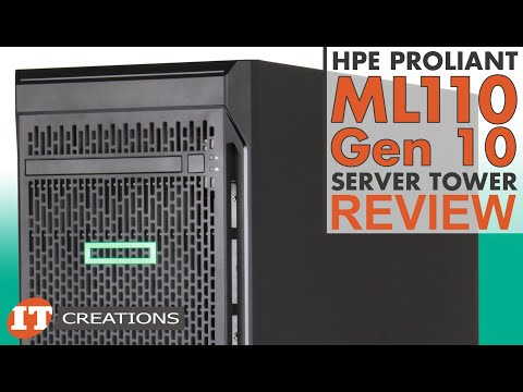 HPE ProLiant ML110 Gen 10 Server Tower REVIEW | IT Creations