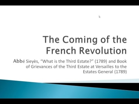 a discussion of the features of the grievances of the third estate list What were the 3 major complaints the third estate had in france 1789.