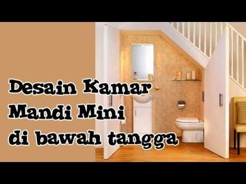 Desain kamar mandi minimalis ukuran kecil 2x2 di bawah