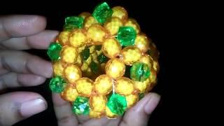 How to Make Beautiful Putir Pineapple Fruit / Beads Pineapple / আনারস তৈরি