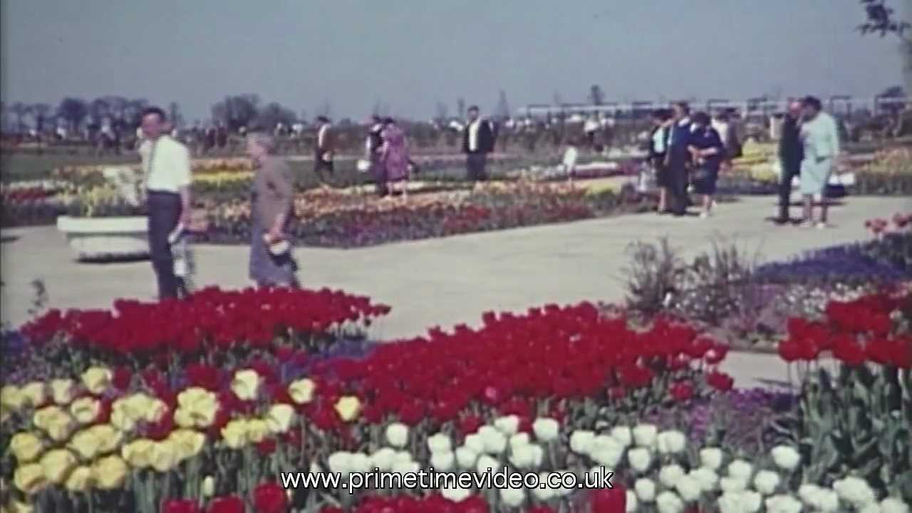 Springfields Garden Centre Spalding Archive And Modern Video Youtube