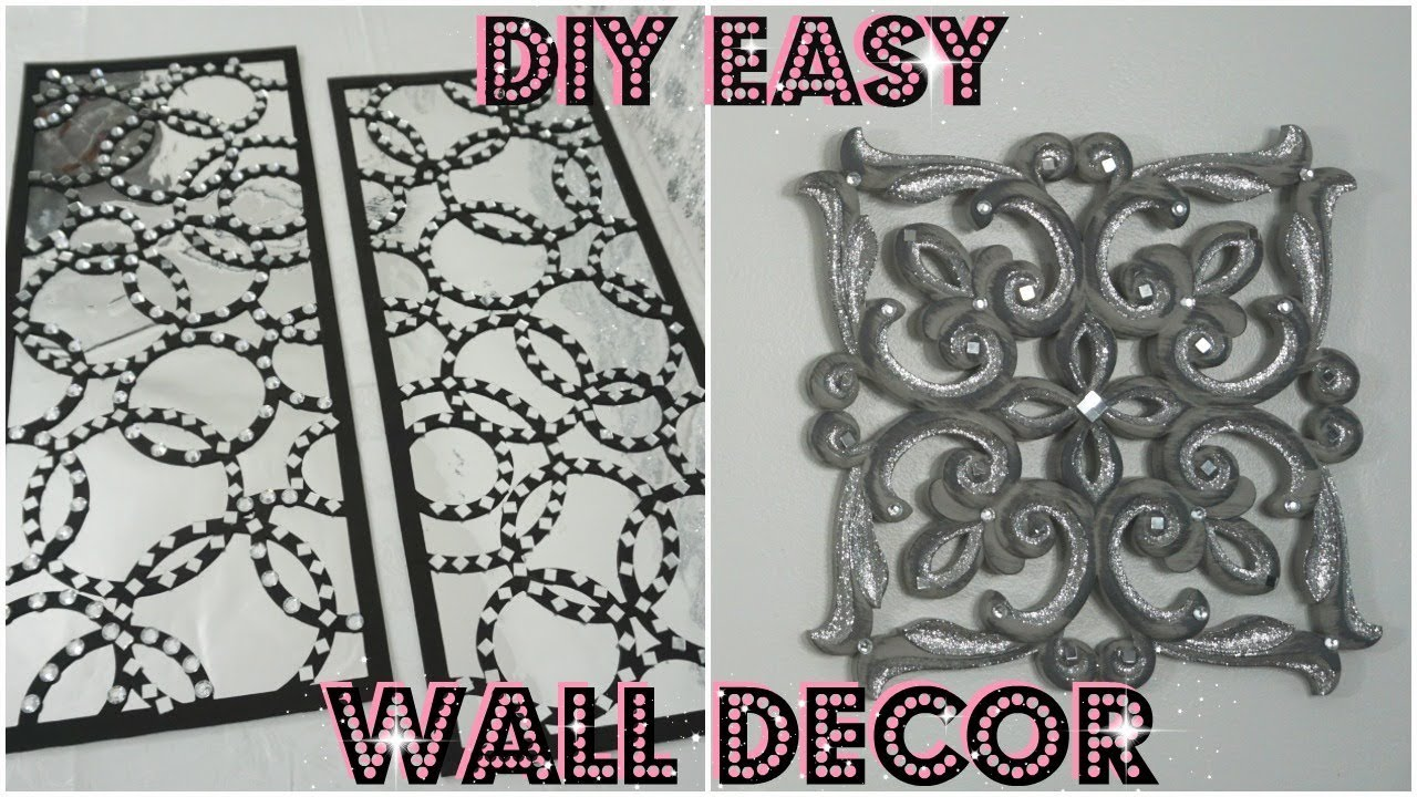 DIY MIRROR WALL DECOR IDEAS | HOW TO REVAMP WALL DECOR ...