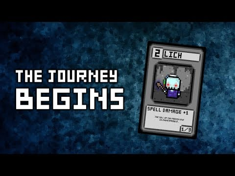 THE JOURNEY BEGINS! - The Making Of The Frozen Reign Deck [Pixel Wars TCG] [Ep. 1]