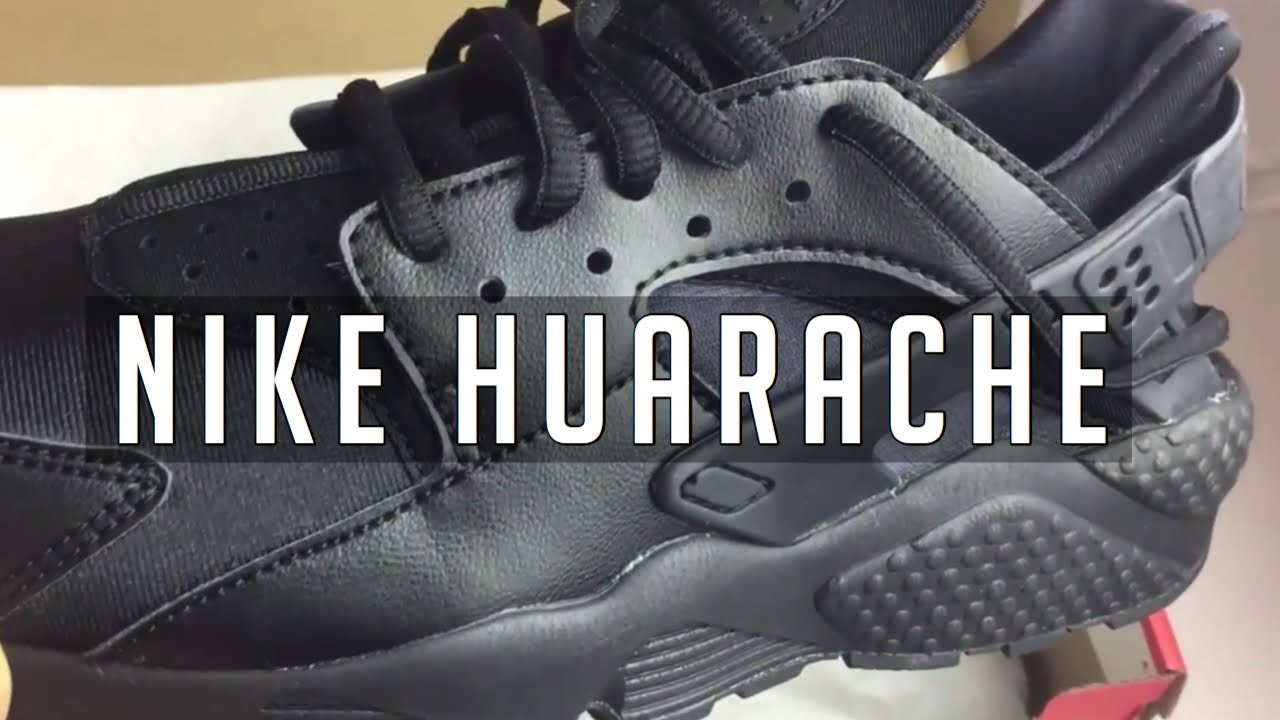 be56f901e335 Women Nike Black Huarache Review. Get 20% off - YouTube