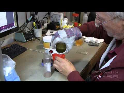 #423 Making nano copper conductive paint.