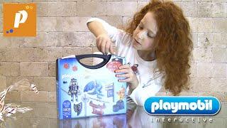 Распаковка плеймобиль из серии Playmobil Dragons Unboxing