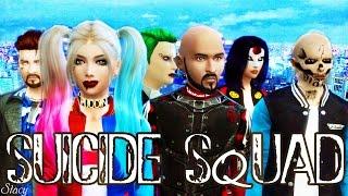 the Sims 4 Создание Персонажей / Отряд Самоубийц (Suicide Squad)