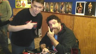 Vlog meeting Mick Foely At Jerry Lawler