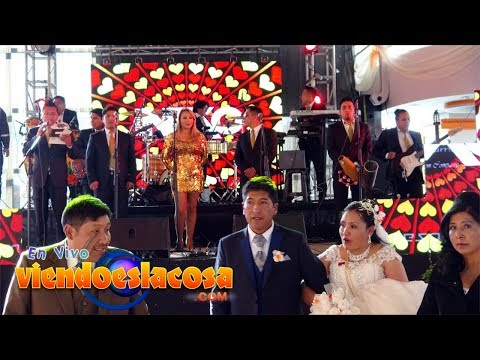 VIDEO: GRUPO ÉBANO - Mix Carro Show ¡En VIVO! - WWW.VIENDOESLACOSA.COM