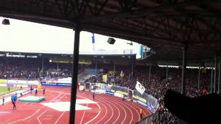 Eintracht Braunschweig Torjubel nach dem 1:0 gegen Regensbu