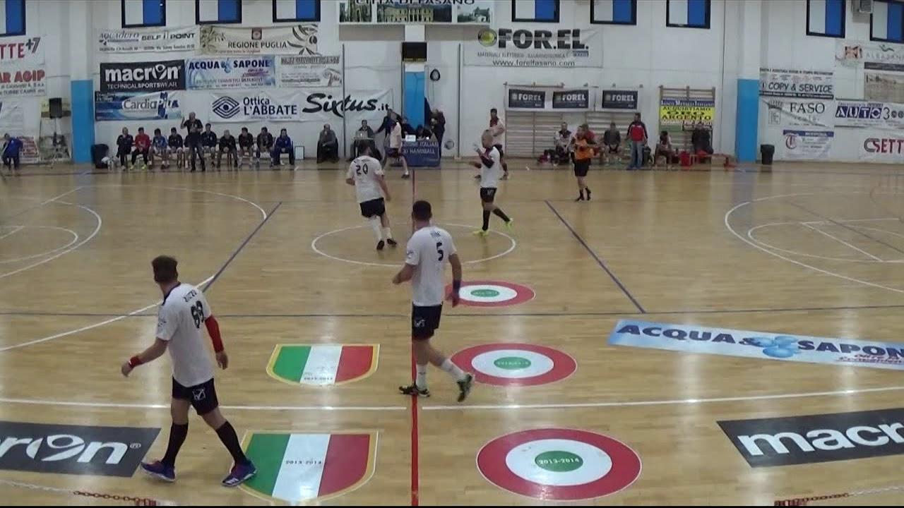 Serie A1M [13^]: Fasano - Fondi 33-25