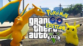 POKEMON GO SUR GTA 5 ! (La vraie application !)