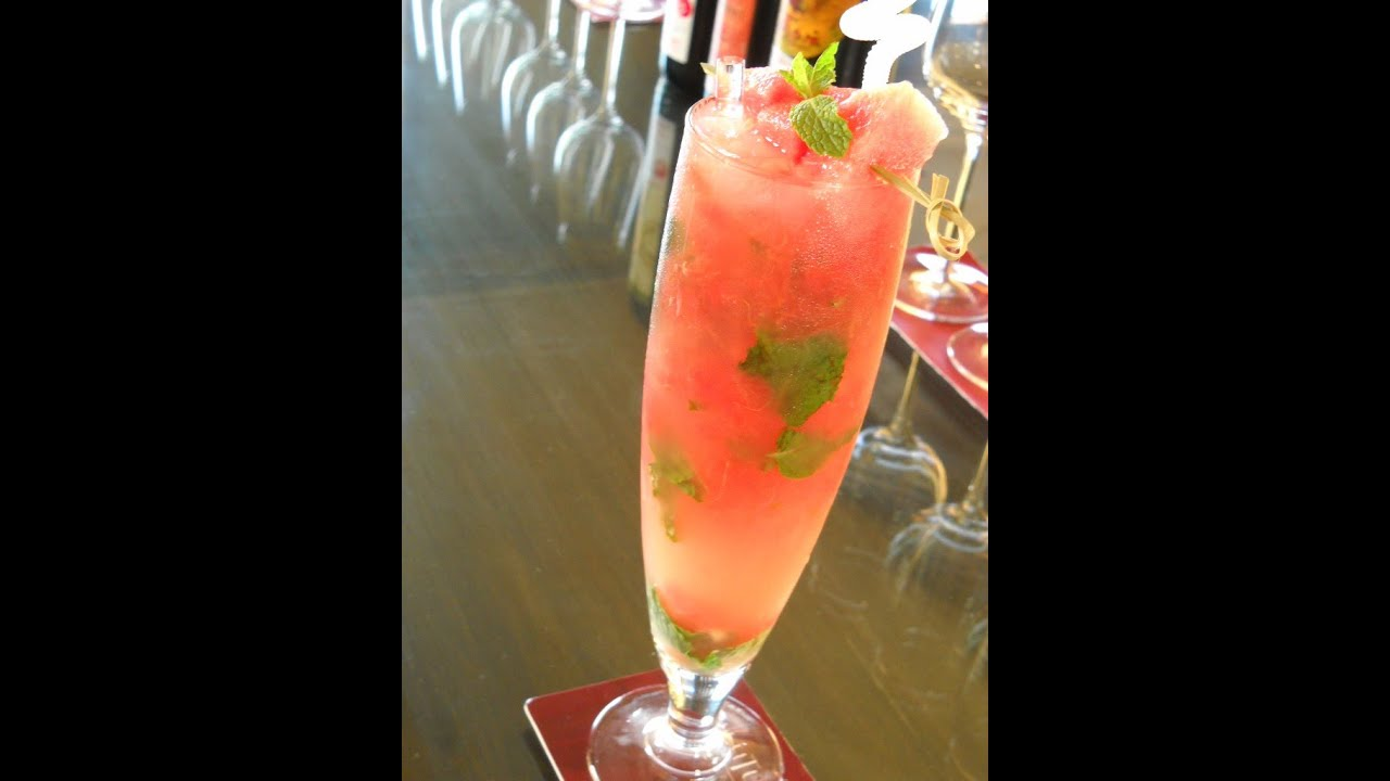 Watermelon-Chamomile Mocktail (The Andre Agassi)
