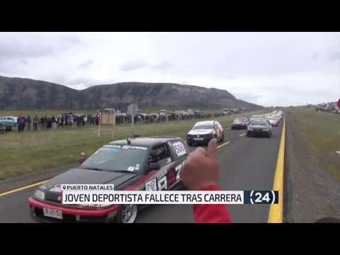Muere participante de Tres Horas Automovilísticas de Natales