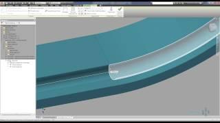 Создание трубопроводов по заданной траектории сложной формы в Autodesk Inventor