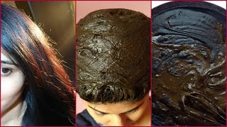 henna hair dye to get darker hair color   patanjali kesh kanti herbal henna
