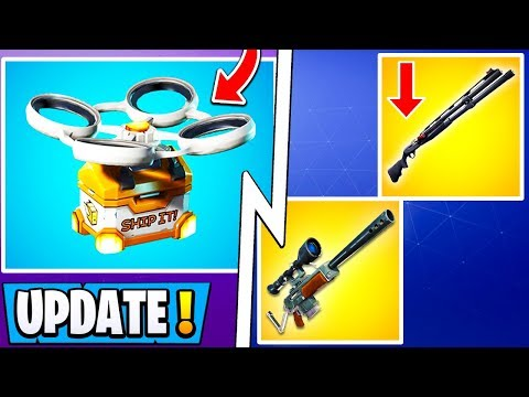 *ALL* Fortnite 9.10 Changes!   Hot Spots, Shotgun Nerf, Unvaulted Weapon!
