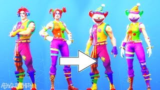 NOUVEAUX SKINS CLOWNS (New Nite Nite & Peekaboo Skins) ! Fortnite Battle Royale