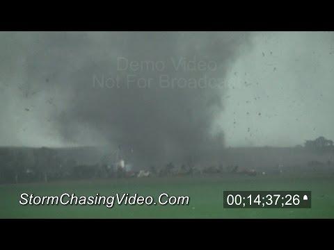 6/16/2014 Pilger, NE Tornado Raw Footage Master - Stock Footage
