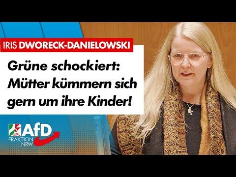 Grüne schockiert: Mütter kümmern sich gern um Kinder! – Iris Dworeck-Danielowski (AfD)
