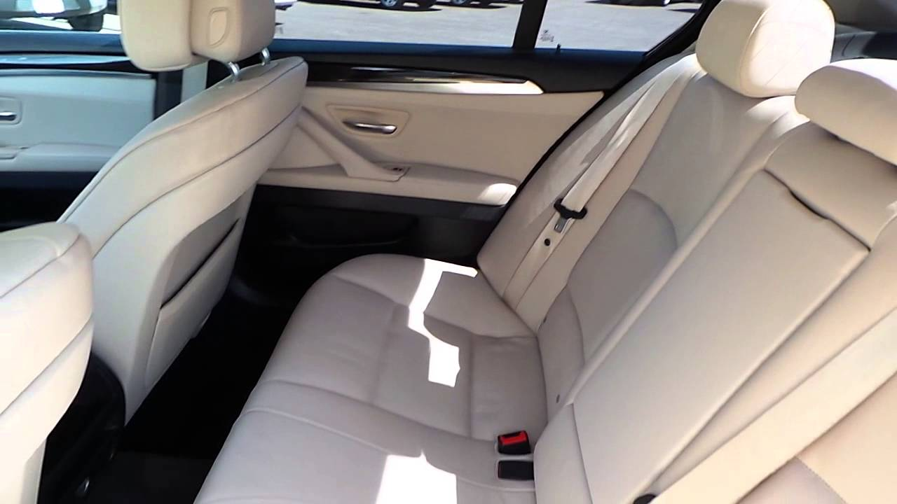 2011 bmw 528i white stock 13729p interior [ 1280 x 720 Pixel ]